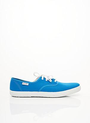 Baskets bleu VICTORIA pour homme