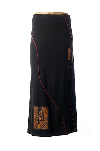 Jupe longue noir BATISTE pour femme
