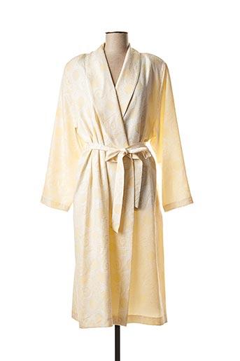 Robe de chambre beige EGATEX pour femme