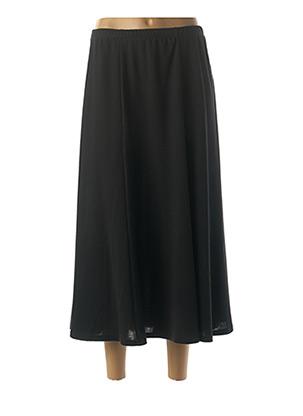 Jupe longue noir FRANCOISE DE FRANCE pour femme