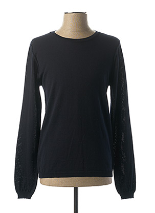 Pull col rond bleu IMPERIAL pour homme