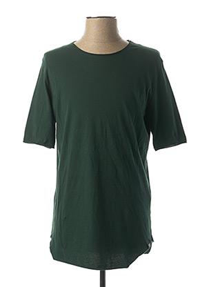 T-shirt manches courtes vert IMPERIAL pour homme