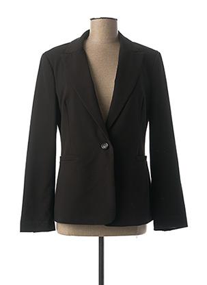 Veste chic / Blazer noir DIXIE pour femme