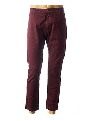 Pantalon casual rouge IMPERIAL pour homme