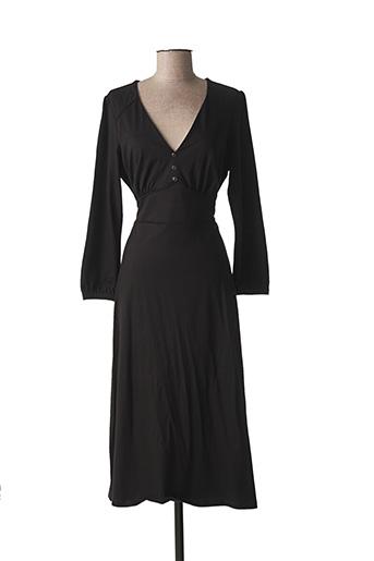 Robe mi-longue noir KING LOUIE pour femme