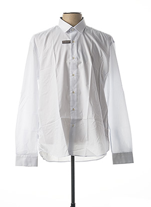 Chemise manches longues blanc ENZO DI MILANO pour homme