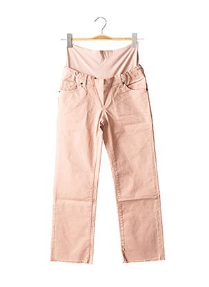 Pantalon 7/8 rose ATTESA pour femme