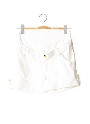Short blanc MENONOVE pour femme