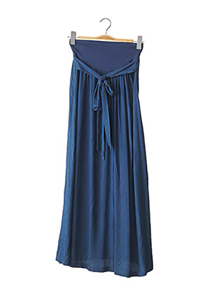 Jupe longue bleu 9 FASHION pour femme