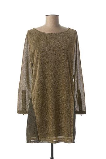 Robe courte jaune CHERRY COUTURE pour femme