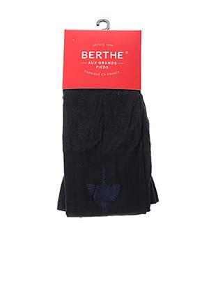 Collants noir BERTHE AUX GRANDS PIEDS pour femme