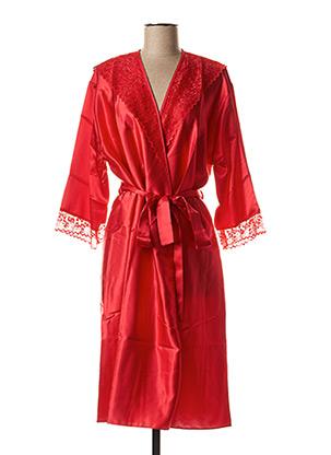 Robe de chambre rouge WAITE'S LINGERIE pour femme
