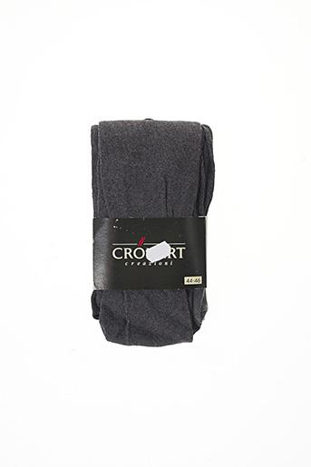 Collants gris CRONERT pour femme