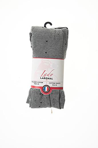 Collants gris LABONAL pour femme