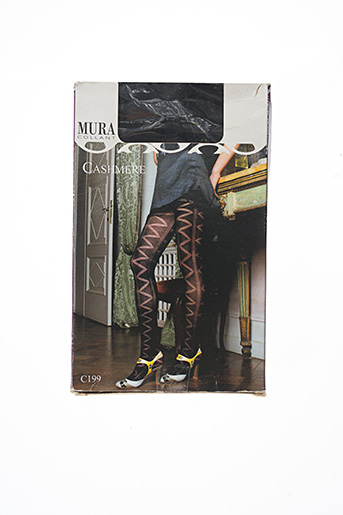 Collants noir MURA pour femme