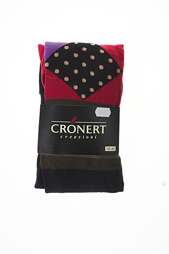 Collants rouge CRONERT pour femme