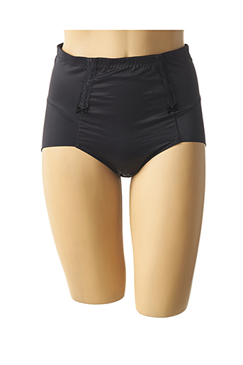 Culotte gainante noir ROSA FAIA pour femme