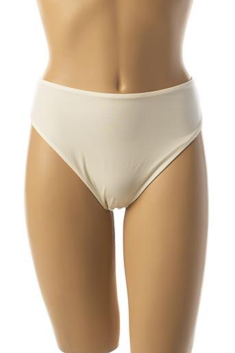String/Tanga beige ULLA DESSOUS pour femme