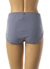 Shorty/Boxer bleu SECRET D'EVA pour femme seconde vue