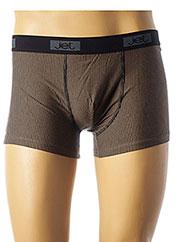Shorty/Boxer beige JET pour homme seconde vue