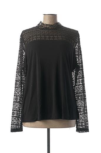 T-shirt manches longues noir VIRGINIE & MOI pour femme