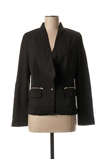 Veste casual noir VIRGINIE & MOI pour femme