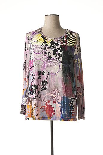 T-shirt manches longues violet ERFO pour femme