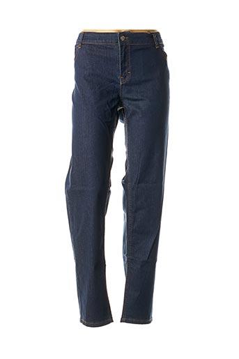 Jeans skinny bleu ELENA MIRO pour femme