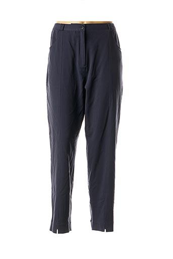 Pantalon casual bleu ALICE ET BARNABE pour femme