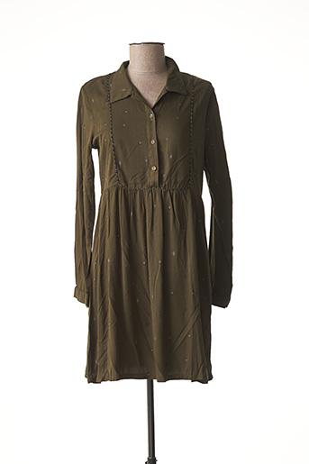 Robe courte vert GRACE & MILA pour femme