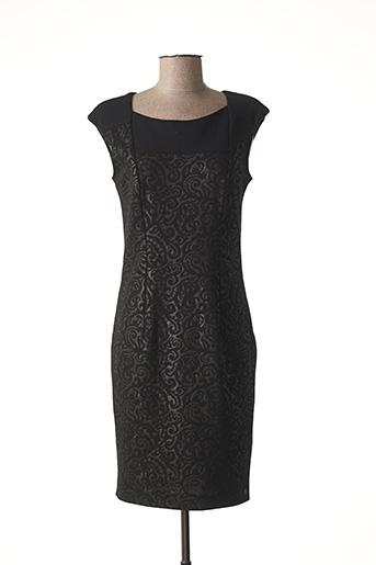 Robe mi-longue noir CHIPIE pour femme