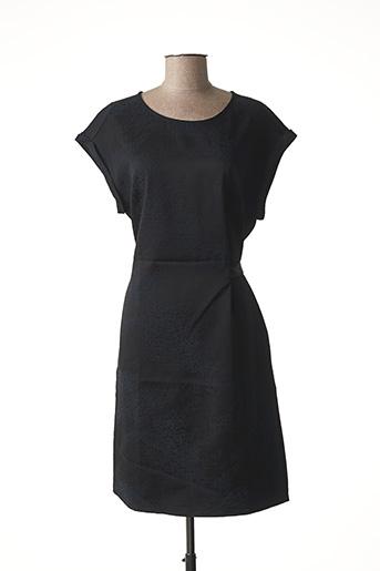 Robe mi-longue noir WMN pour femme