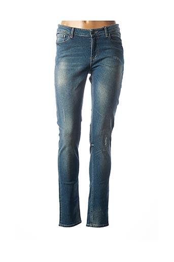 Jeans coupe slim bleu FRIDAY pour femme