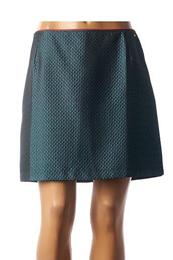 Jupe courte bleu CKS pour femme