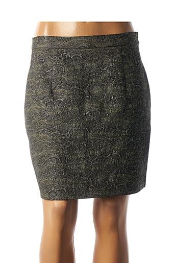 Jupe courte vert COP COPINE pour femme