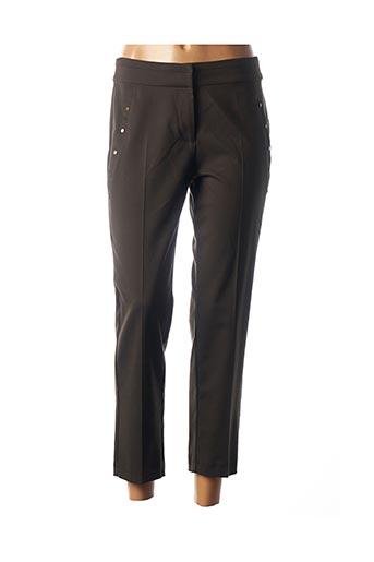 Pantalon 7/8 vert COP COPINE pour femme