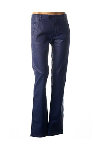Pantalon casual bleu CHIPIE pour femme
