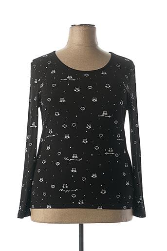 T-shirt manches longues noir ANAKE pour femme