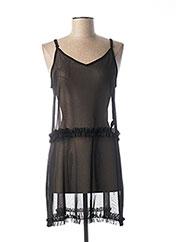 Robe courte noir PIECES pour femme seconde vue