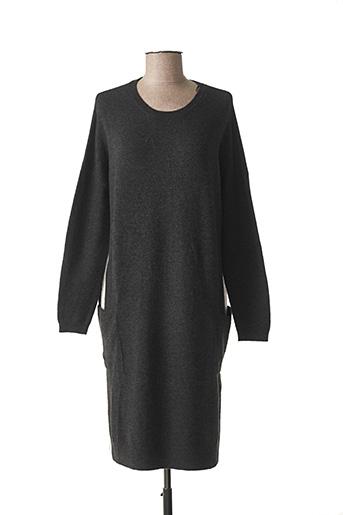 Robe pull gris SANDWICH pour femme