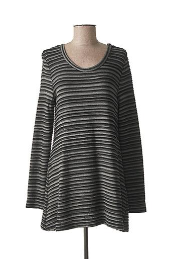 Tunique manches longues gris ELEMENTE CLEMENTE pour femme