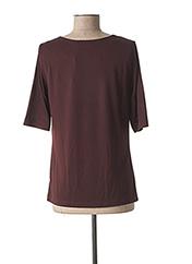 T-shirt manches courtes rouge SANDWICH pour femme seconde vue