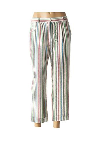 Pantalon casual vert YUKA pour femme