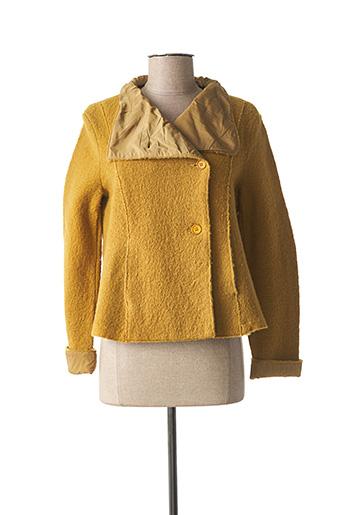 Veste casual jaune ELEMENTE CLEMENTE pour femme