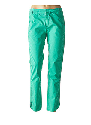 Pantalon casual vert IKKS pour femme