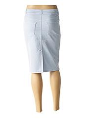 Jupe mi-longue bleu NINATI pour femme seconde vue