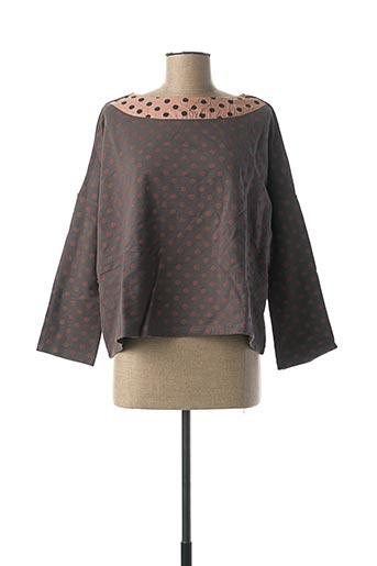 Sweat-shirt rose RHUM RAISIN pour femme