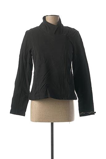Veste casual noir RHUM RAISIN pour femme