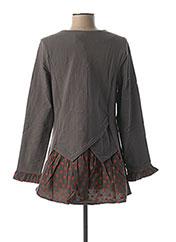 Veste casual gris RHUM RAISIN pour femme seconde vue