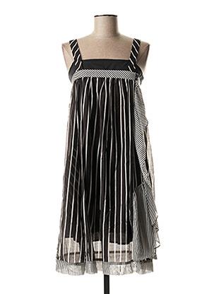 Robe mi-longue noir TWIN SET pour femme